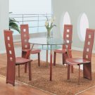 Bross Magahony Modern Dining Set