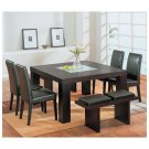 Dining Room Set  ( Leather - Wenge )