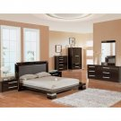 European-Brown Style Bedroom Set