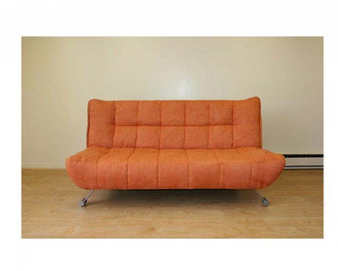 jm downtown 7403 7402 177 orange klick klack sofa bed downtown 7403 7402 177. Black Bedroom Furniture Sets. Home Design Ideas