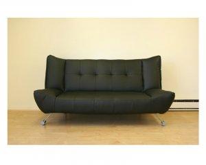 JM- Downtown 7403-7401-764  //  Leatherette black klick klack sofa bed Downtown (7403-7401-764)