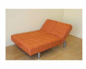 JM-z-Quadro-1_f_or // z-Quadro Microfiber Convertible Sofa orange