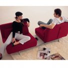 ID-lk06-2_burg  // Contemporary Red sofa bed -burgundy