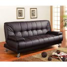 C_300153 // Casual Convertible Futon Sofa Bed C-48