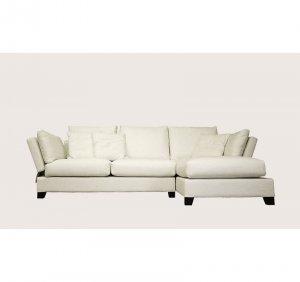 BN-Bayview-Condo // Bayview Condo Sectional Sofa  White ( Fab.A21-01)