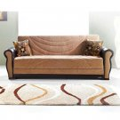 KLM Classica 05/272  //  Sofa Bed  Fabric  Brown 05/272
