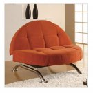 LS_CC_CPC_1_D2_Ch_L_Or // Lifestyle Solutions  Leather Capitola Copper Convertible Chair