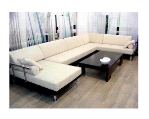 WSI CF-151 // Napoli Microfiber Sectional Sofa with Chaise