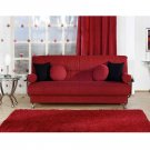 SS-Best_fr_r //  Best Sofa red Fabric by Istikbal/Sunset