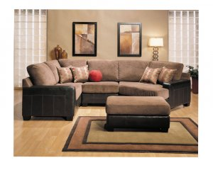 5060 SET-1 // ACME Frederic Sectional Sofa Set