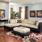 Thomas Microfiber Sectional Sofa with Right or Left Chaise