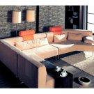 WSI-CF-01  //  Contemporary Bright Sunrise Sectional Sofa Set