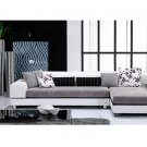 Eho-1160W // Gahr Sectional Sectional with Attached Lamp