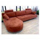 WSI-CF-140 // Raina Sectional Sofa with High Back