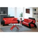 Attractive Leather Living Room Sofa // AE 7030
