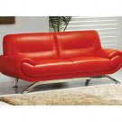 Contemporary Passion Leather Sofa by American Eagle  //  AE-7580