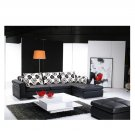 Eho-1134  //   Leather Sectional Sofa with Color Options