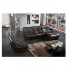 Eho-8102  //   Premium Italian Leather Modern Sectional with Color Options