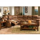 C_MONTANA  //  Sectional with Recliner Montana Collection by Coaster Furniture