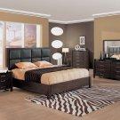 Wenge Color Modern Bedroom Set With Platform Bed Canada