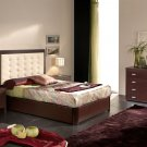 Straight Lines Contemporary Bedroom Set Alicante