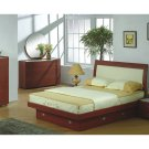 Jazz Contemporary European Style Bedroom Set (Full/Queen)