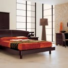 Contemporary Dark Color Bedroom Set Miss Italia 5