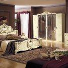 Barocco Ivory Traditional Design Bedroom Set
