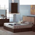Atlas Wenge Modern Bedroom Set