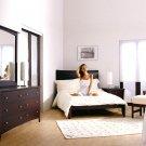 Retorno Contemporary Design Wooden Bedroom set -Full/Queen/King