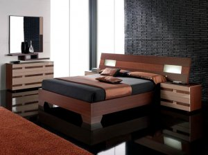 Benicarlo Elegant Modern Spain made Queen Size Bedroom Set by ESF