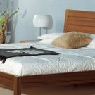 BH-Alpha  //  Alpha Modern Platform Bed in Walnut or Wenge Color