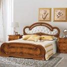 ESF-Milady  //  Milady Contemporary Walnut Platform Bed