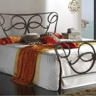 ESF-Olivia //  Olivia Contemporary Metal Bed