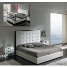 ESF-Penelope  // Penelope White Tufted Leather Headboard w/Storage by Dupen Spain