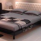 JM-Soho  //  Soho Modern Platform Bed with Leather Headboard