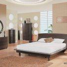 B110 Modern Glossy Bedroom Set