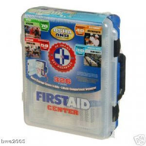 First Aid Kit Office Home Car Suv Truck Meets Osha & Ansi Requirement