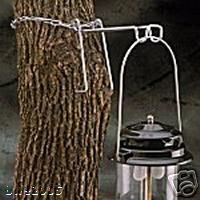 Coleman Propane Battery Lantern Tree Hanger Camp NIB Outdoors Nature Backpacking