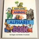 The Amazing Animal Alphabet Book DJ Childrens Home Schooling Book
