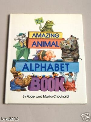 The Amazing Animal Alphabet Book DJ Childrens Home Schooling Book