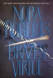 Brazen Virtue by Nora Roberts HB DJ Very Good Condition Mystery Thriller Book