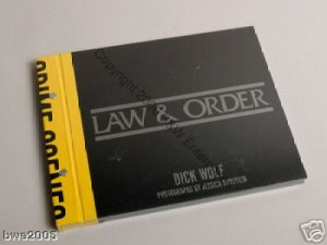 Law & Order by Dick Wolf, Jessica Burstein New Collector Book Police TV