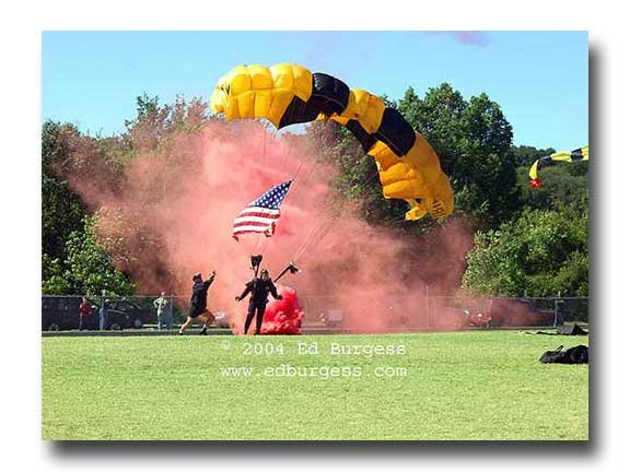 "Army Ranger Parchute Military Art Photo Print Decor ""Terra Firma"" Ed Burgess"