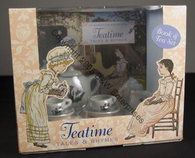 Childs Tea Set Poetry Book TeaTime Tales & Rhyme NIB