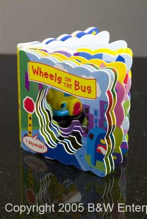 Baby Learning Early Reading Book Wheels on the Bus