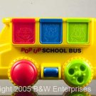 Sesame St School Bus Activity Toy - Jim Henson Muppets
