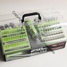 Kawasaki Rotary Tool Kit High Speed + 250 Piece Accessory Kit + See Thru Tool Box