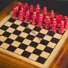Chess Backgammon Chinese Checkers decorative wooden case NIB