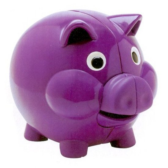 Pigg E Piggy Bank The Learning Journey Electronic Talking Teaching Counting Bank NIB